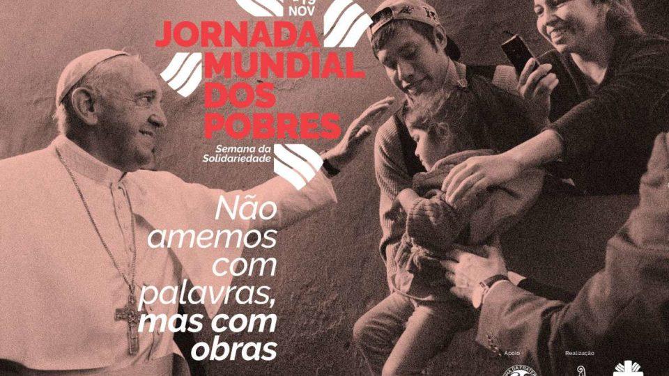 Dia Mundial dos Pobres motiva a ações de solidariedade