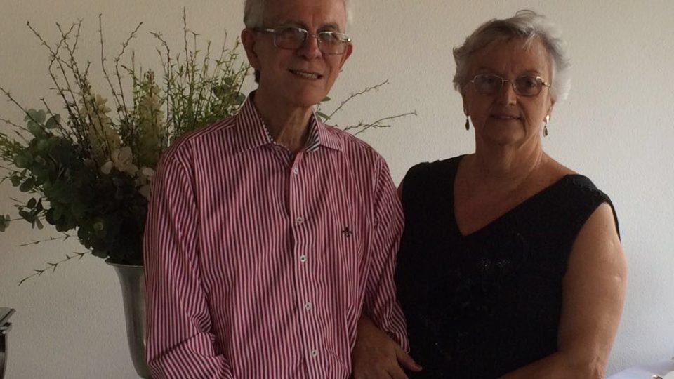 Renato Adilson  e Judith Santos Correa da Silva manifestam congratulações para Dom Paulo Cezar