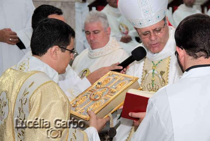 Seminarista Luciano Santos é ordenado Diácono Transitório