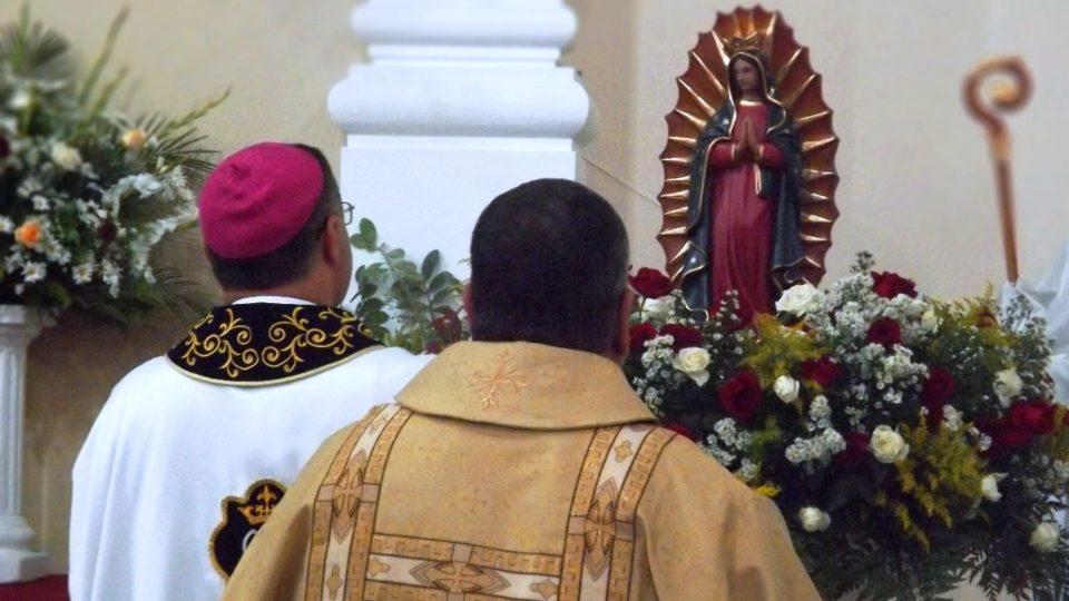 Dom Paulo Cezar preside celebração em ação de graças pelo dia de Nossa Senhora de Guadalupe