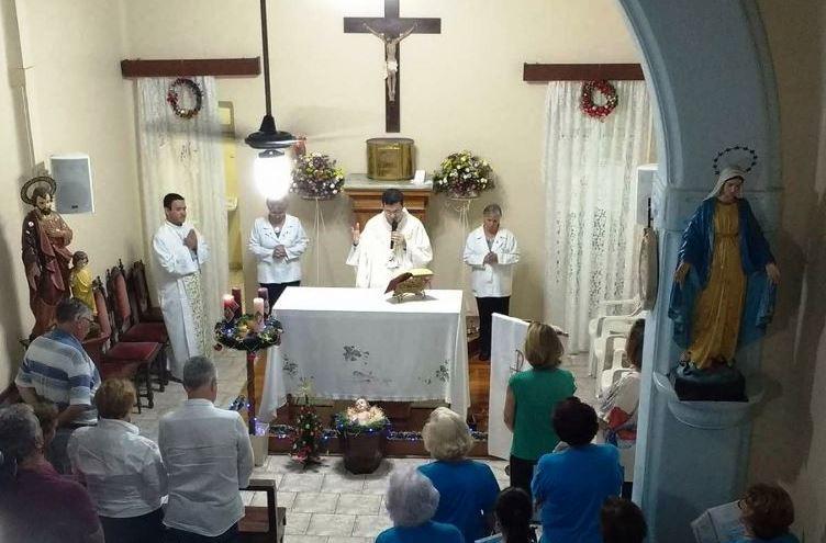 Santa Casa realiza missa de Ação de Graças