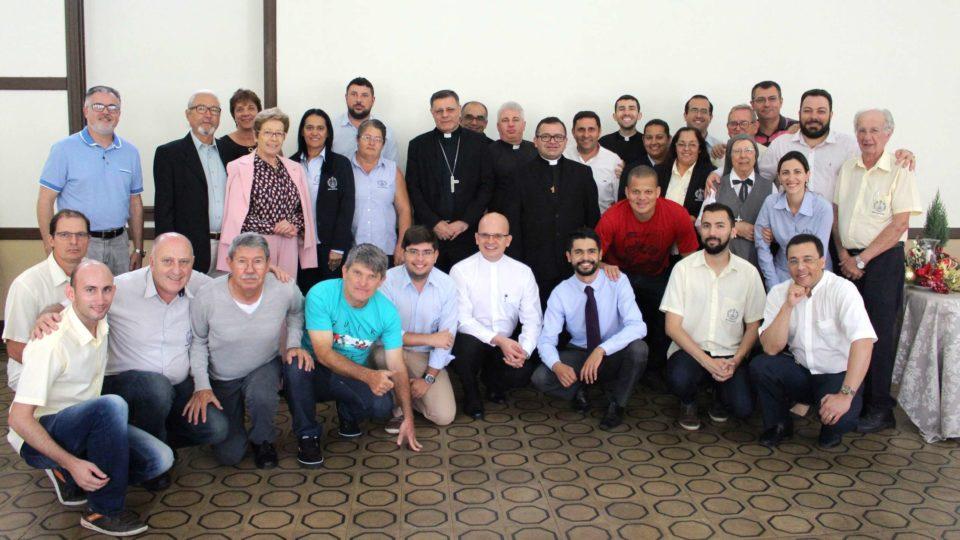 Confraternização dos funcionários da Cúria