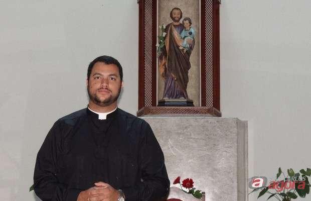 Leandro Pimentel será ordenado diácono na Igreja São José