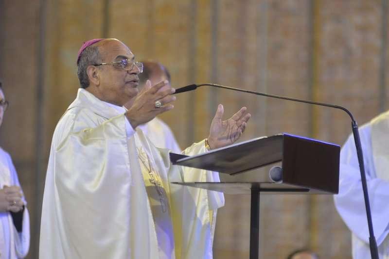 Dom Paulo Cezar recebe votos de congratulação de Dom Francisco Carlos da Silva