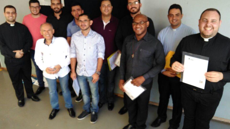 Diáconos transitórios  da nossa Diocese participaram da Colação de Grau da Faculdade de Teologia