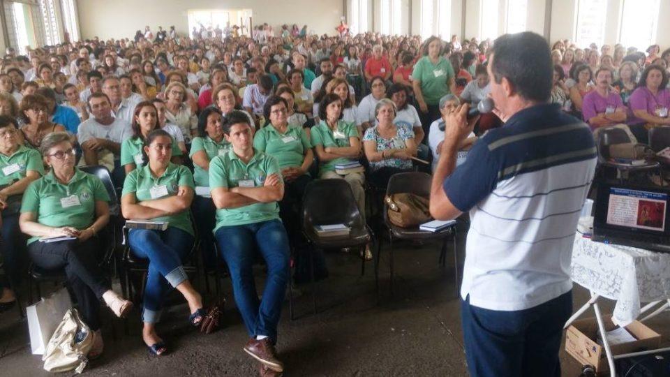 Catequistas participam de formação sobre a Iniciação a Vida Cristã
