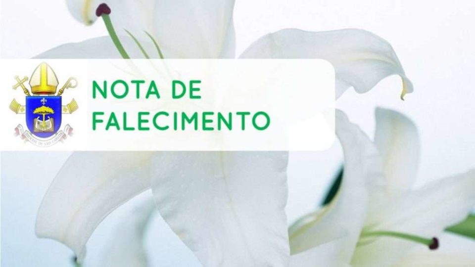 Comunicamos o falecimento da Sra. Thereza Appolinário Maurício