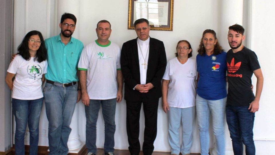 Diocese recebe visita da Coordenação Nacional da Pastoral da Criança