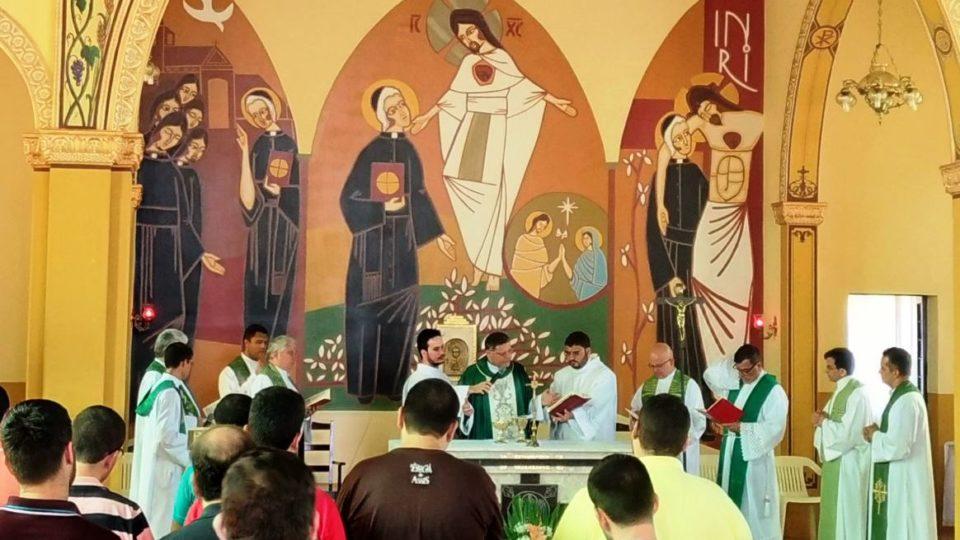 Seminaristas da Diocese de São Carlos participam de retiro