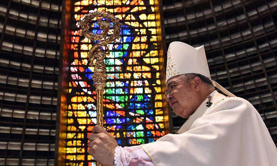 Arcebispo Metropolitano de São Sebastião do Rio de Janeiro felicita Monsenhor Eduardo Malaspina