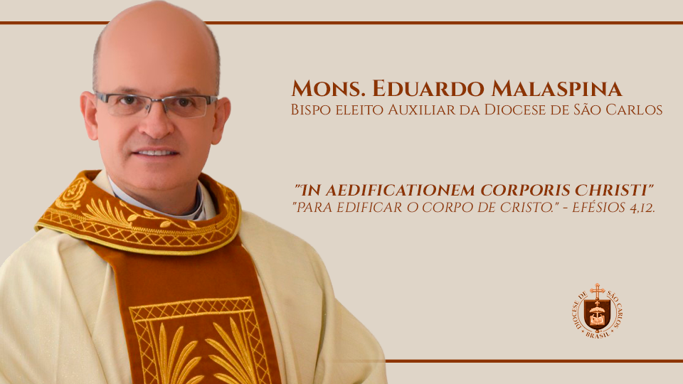 Carta do novo Bispo Auxiliar aos diocesanos