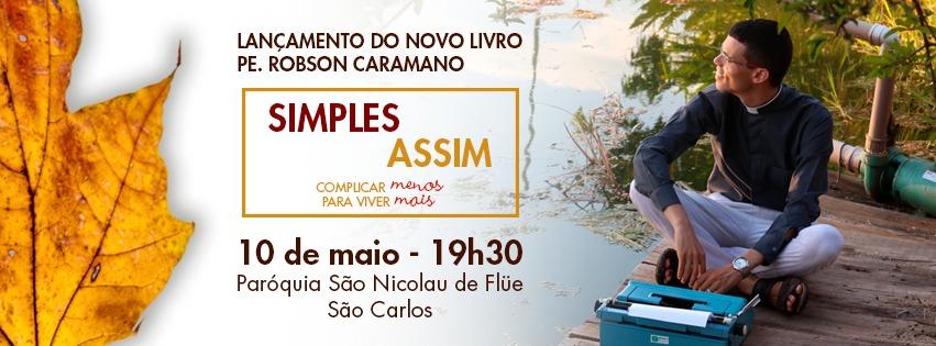 ed9ab48830a2 Lançamento De Livro Acontece Nesta Quinta- Feira Na Paróquia São Nicolau