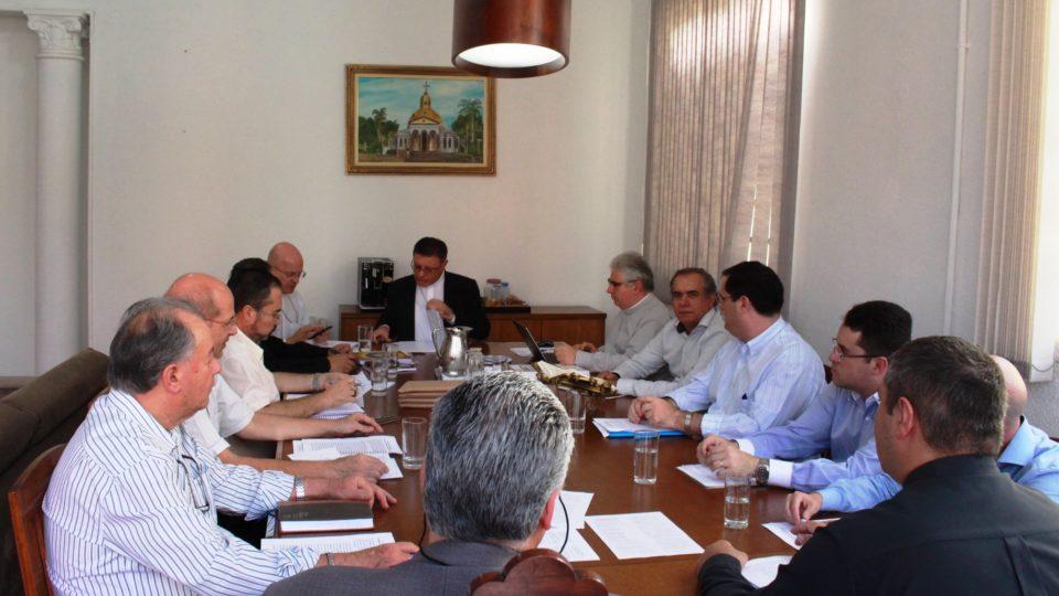 Governo Diocesano esteve reunido