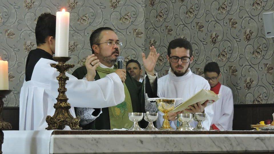Rede Vida transmitiu Santa Missa direto de Brotas
