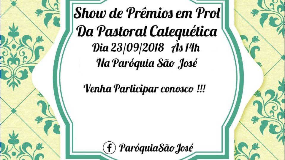 Paróquia São José convida fiéis para evento em prol da Pastoral Catequética