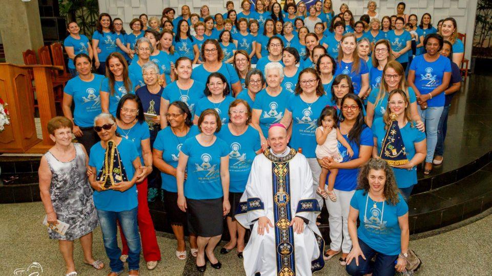 Bispo Auxiliar preside 5º dia da novena em honra a Padroeira do Brasil em Matão