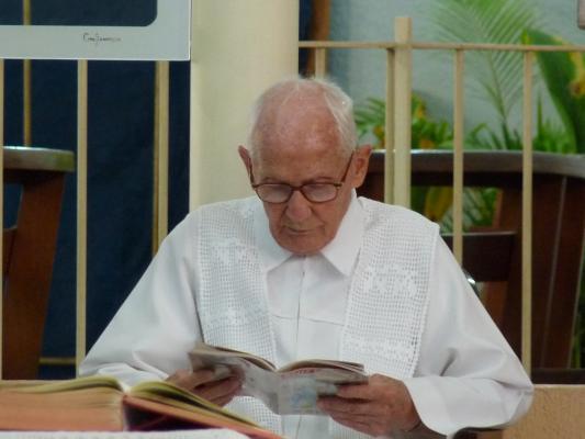 Sobre o Velório de Pe. Antônio Desan