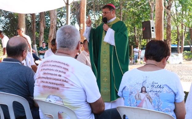Bispo Diocesano preside Celebração Eucarística na Associação São Pio de Araraquara