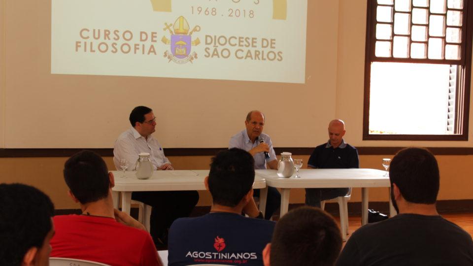 Mesa redonda dos 50 anos do Curso de Filosofia da Diocese de São Carlos