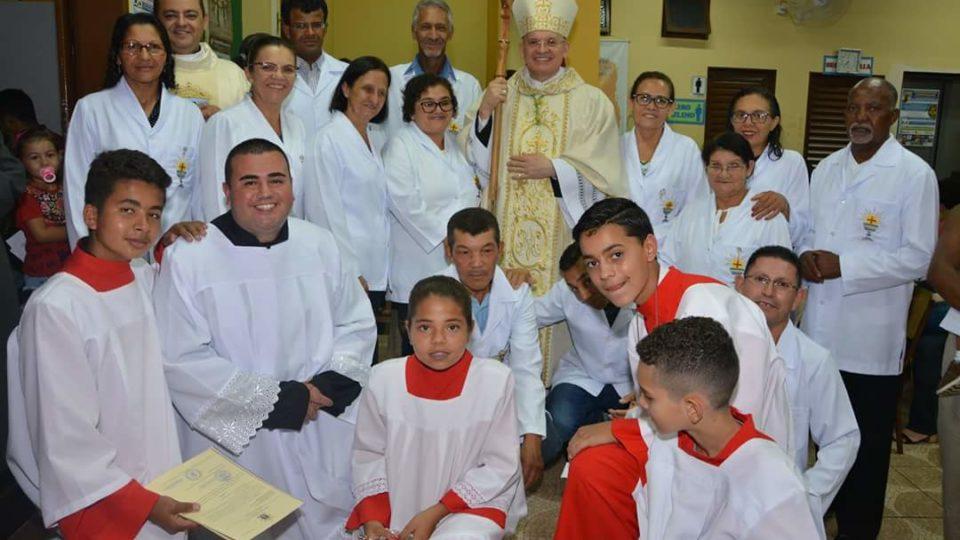 Dom Eduardo Malaspina preside missa de reinauguração da Paróquia São Francisco de Assis em Ibaté