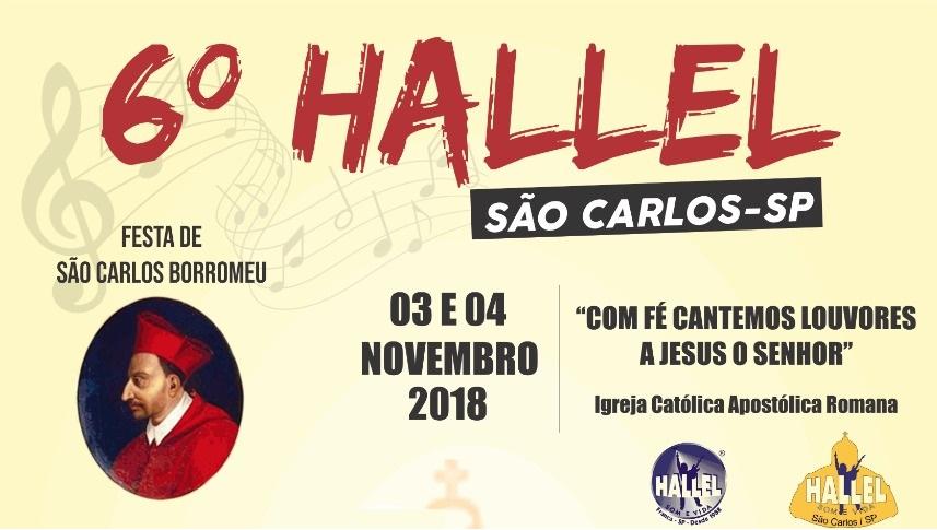 Hallel São Carlos define atrações para o evento deste ano