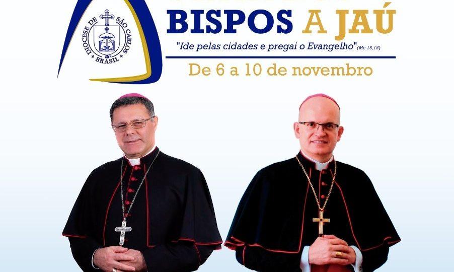 Visita dos Bispos no Vicariato Nossa Senhora do Patrocínio
