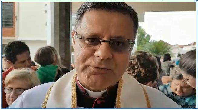 Bispo Diocesano  fala aos Jauenses