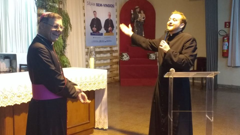 Bispo Diocesano visita Paróquia Santo Antônio na cidade de Jaú