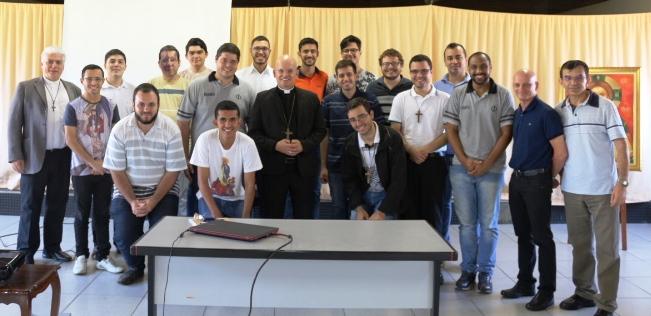 Bispo Auxiliar fala com Seminaristas durante Semana Filosófica
