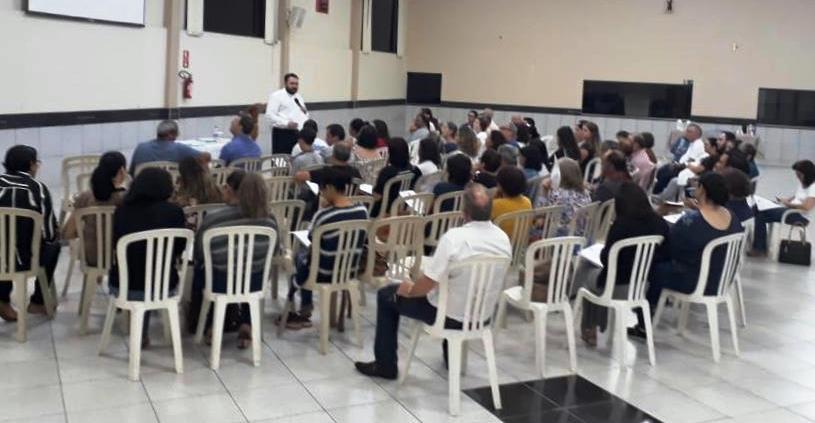 Reunião com os Catequistas de Iniciação à Vida Cristã do Vicariato São Carlos Borromeu