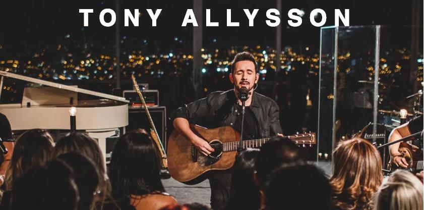 Noite de Louvor com Tony Allysson na Paróquia Nossa Senhora de Fátima
