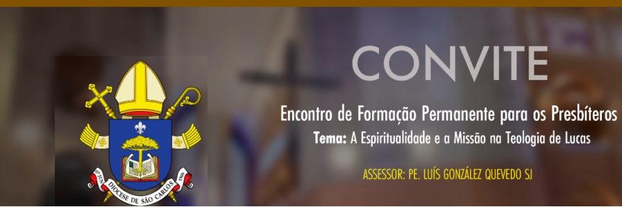 Convite aos presbíteros da Diocese para formação permanente
