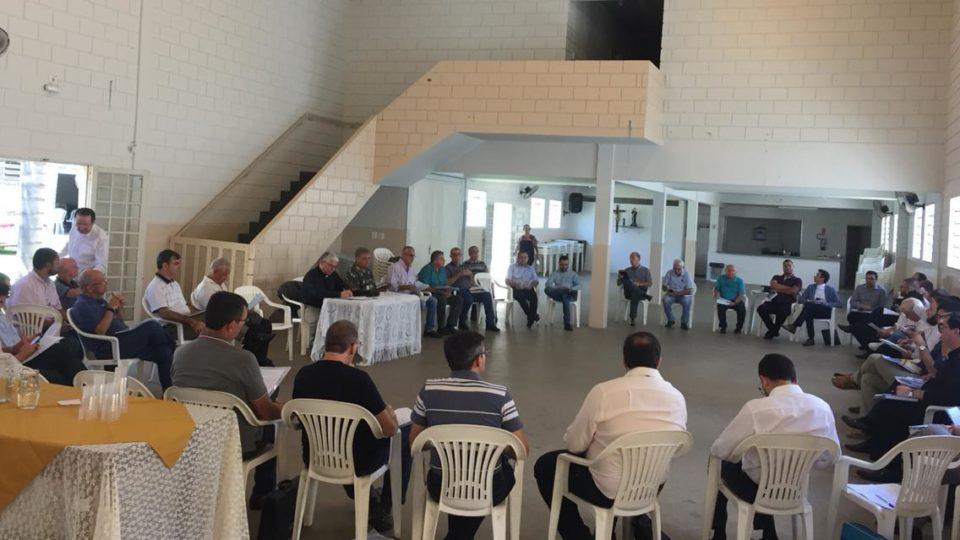 Reunião de padres do Vicariato São Carlos Borromeu
