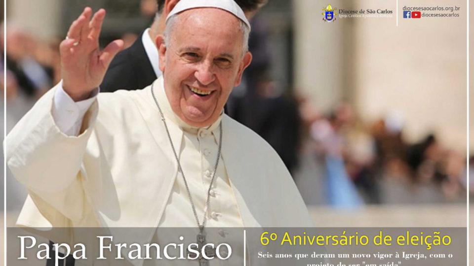 Papa Francisco: 6 anos de sua eleição