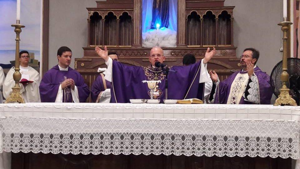 Paróquia São Francisco em Brotas recebe visita do Bispo Auxiliar da Diocese de São Carlos