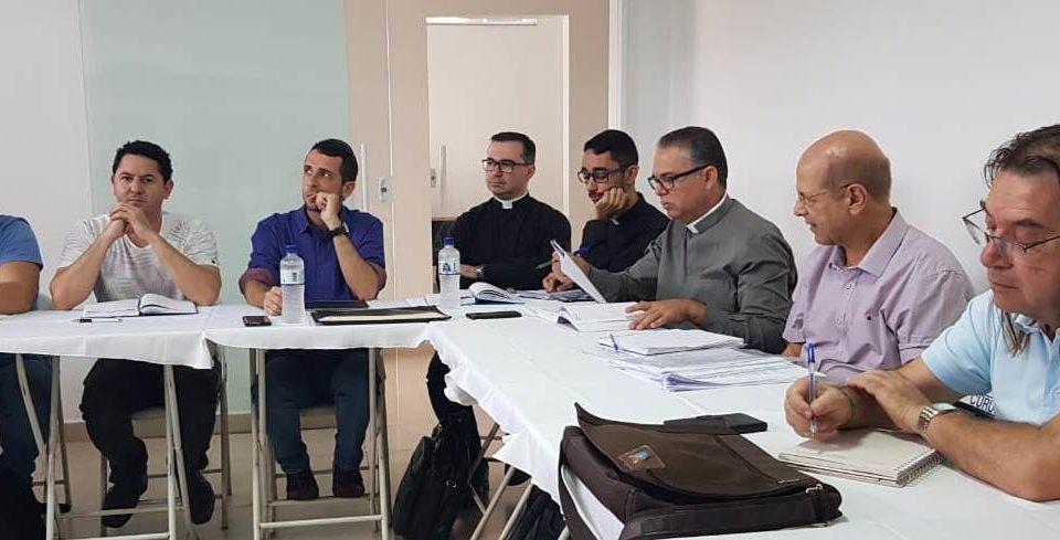 Reunião de padres do Vicariato Senhor Bom Jesus