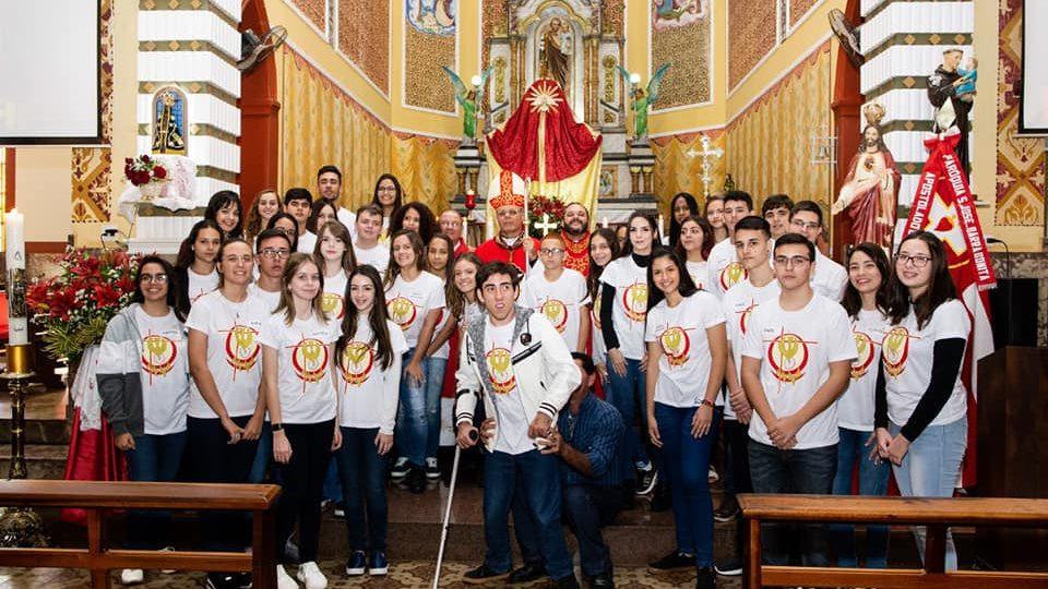 Barra Bonita recebe Dom Paulo Cezar para celebração da Crisma
