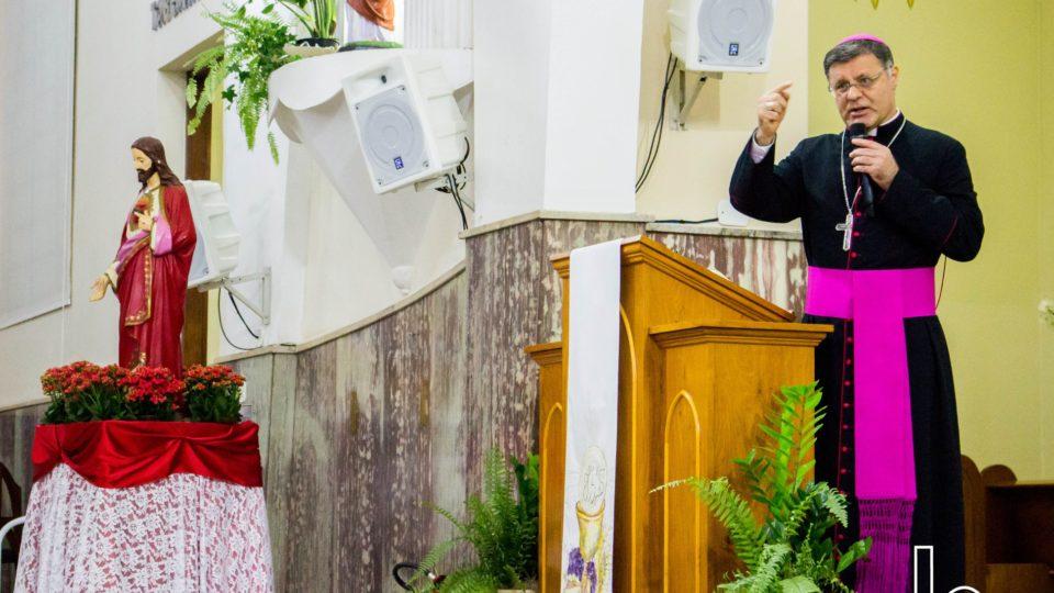 Bispo Diocesano realizou catequese junto à Comunidade Católica de Matão