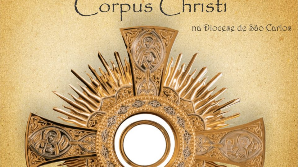 Celebrações de Corpus Christi na Diocese de São Carlos