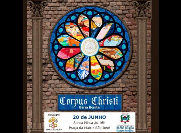 BARRA BONITA TERÁ RUAS ENFEITADAS PARA PROCISSÃO DE CORPUS CHRISTI