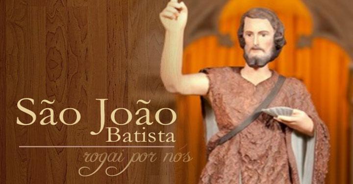 Momento Catequético: Natividade de São João Batista – Solenidade