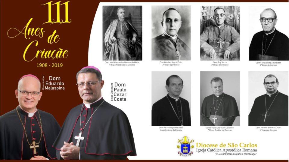 Durante todos estes 111 anos de existência da Diocese muitos contribuíram e continuam a contribuir na Construção do Reino de Deus