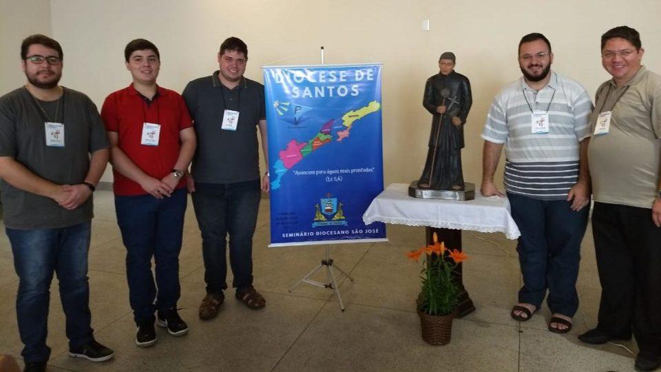 Seminaristas representam a Diocese de São Carlos em Congresso do Regional Sul 1