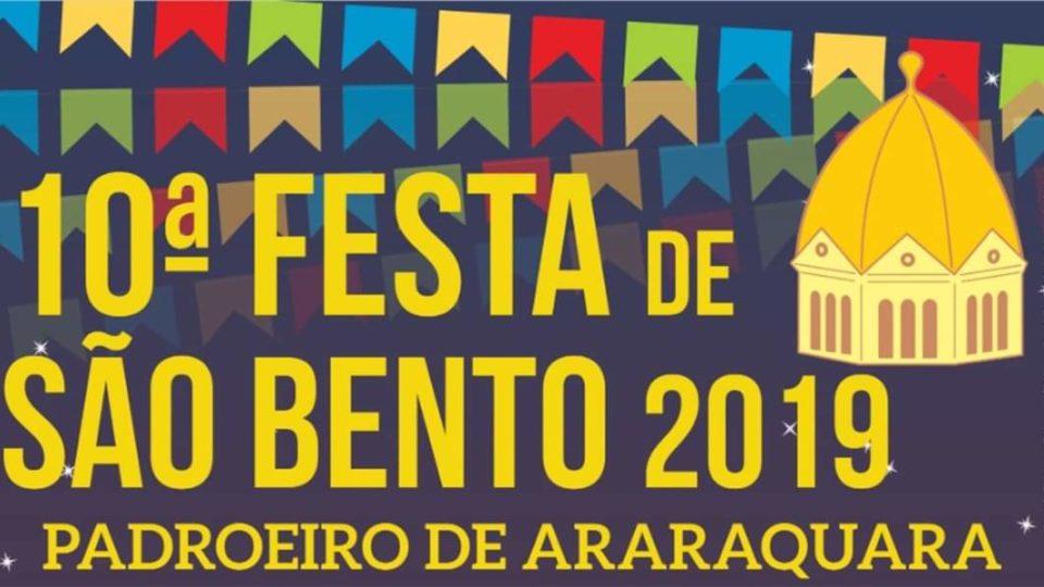 Festa de São Bento, o padroeiro de Araraquara, completa 10 anos