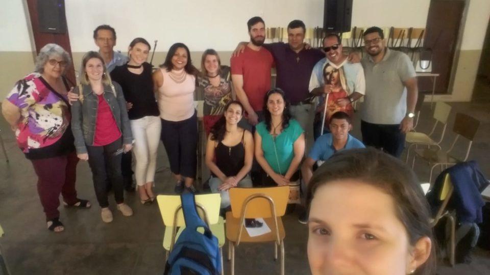 Formação inicial para agentes da Pastoral da Inclusão no Vicariato Nossa Senhora do Patrocínio