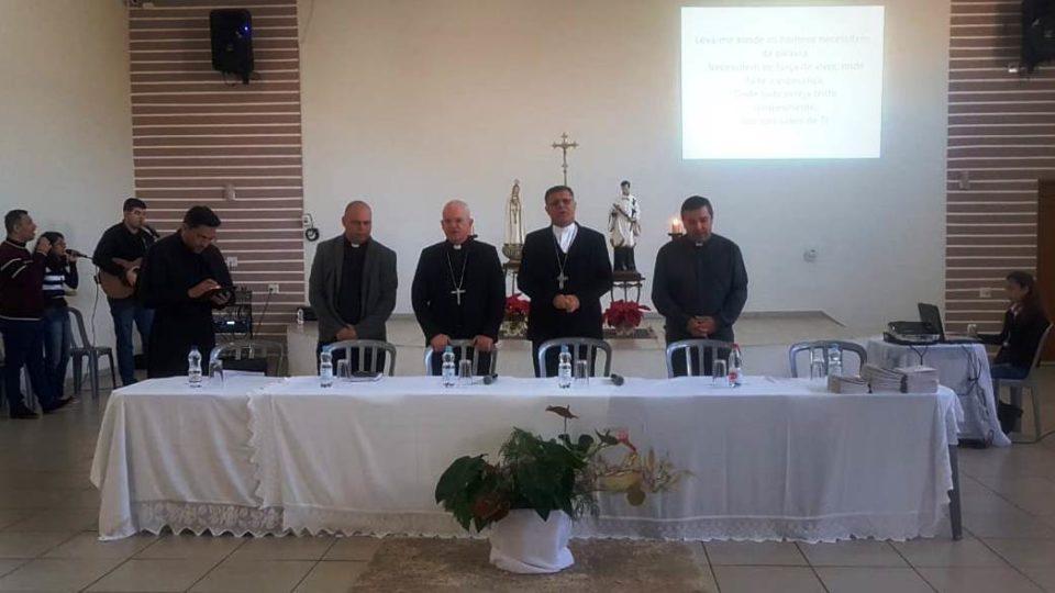 Bispos começam a Visita Pastoral na cidade de Rincão e Motuca