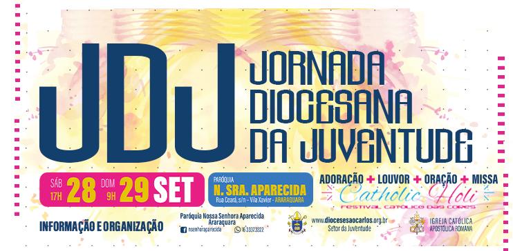 Jornada Diocesana da Juventude acontece em setembro