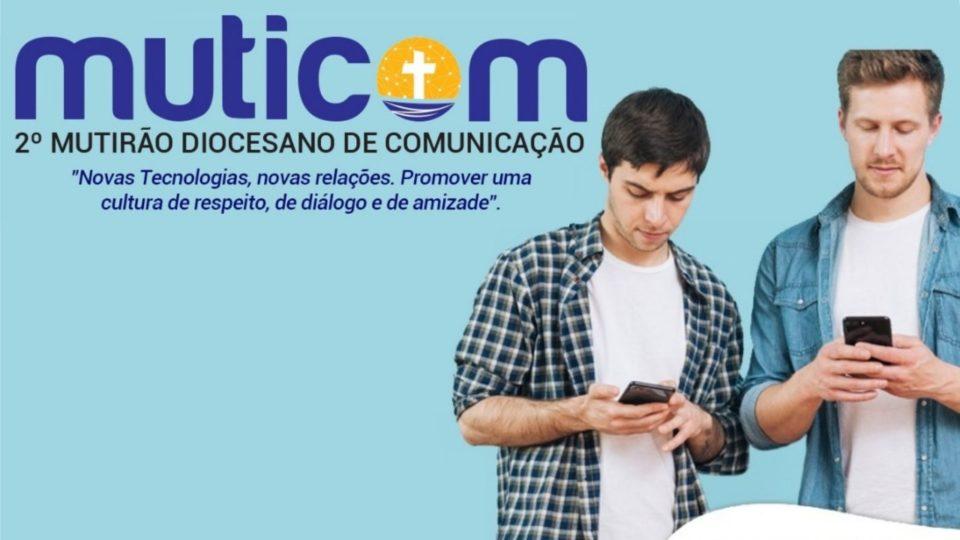 ABERTAS AS INSCRIÇÕES PARA O 2º MUTIRÃO DIOCESANO DE COMUNICAÇÃO