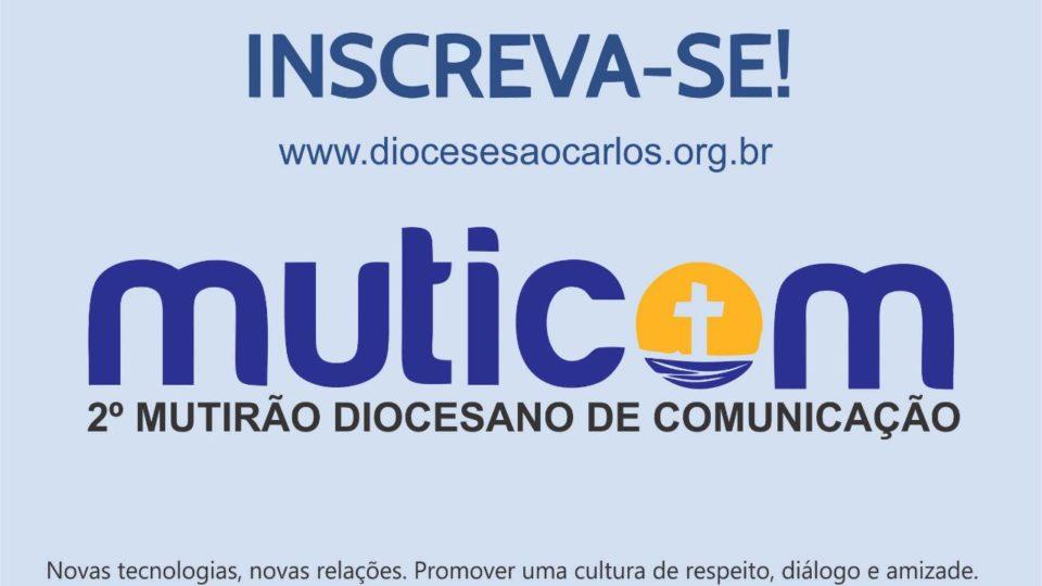 PASCOM da Diocese de São Carlos realizará Encontro Diocesano de Comunicação