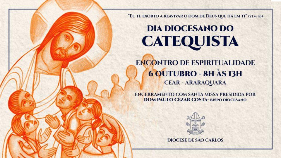 Inscrições abertas para o Dia de Espiritualidade Diocesano do Catequista